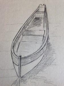Comment dessiner facilement une barque art express - Dessin de bateau facile ...
